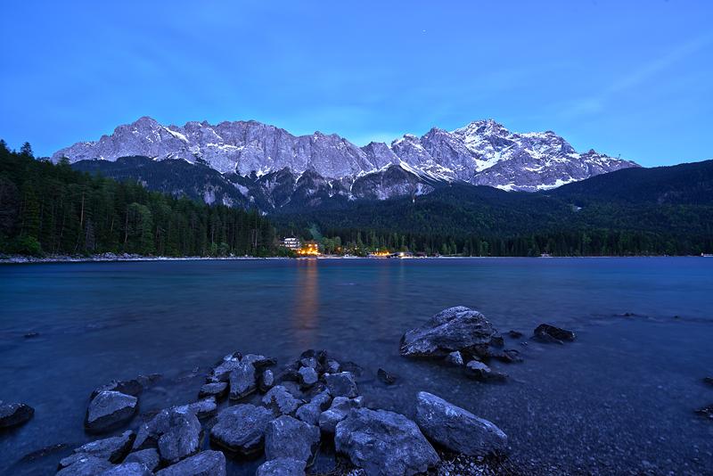 Bayern-Garmisch, Partenkirchen, Eibsee, Berge, Landschaft, See, Stephan Hastreiter