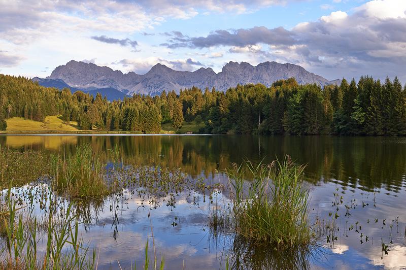 Bayern-Garmisch, Partenkirchen, Geroldsee, Wagenbruechsee, Karwendel, Berge, Landschaft, See, Stephan Hastreiter