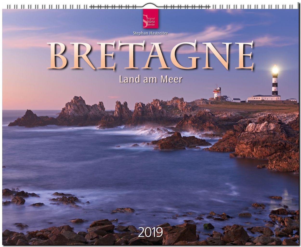 Bretagne, Kalender, Bretagne 2019, Land am Meer, Stephan Hastreiter, Bretagne Land am Meer 2019