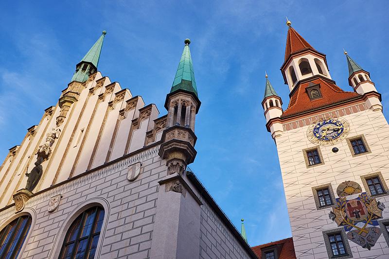 Deutschland, Bayern, Oberbayern, München, Marienplatz, Altes Rathaus, Stephan Hastreiter