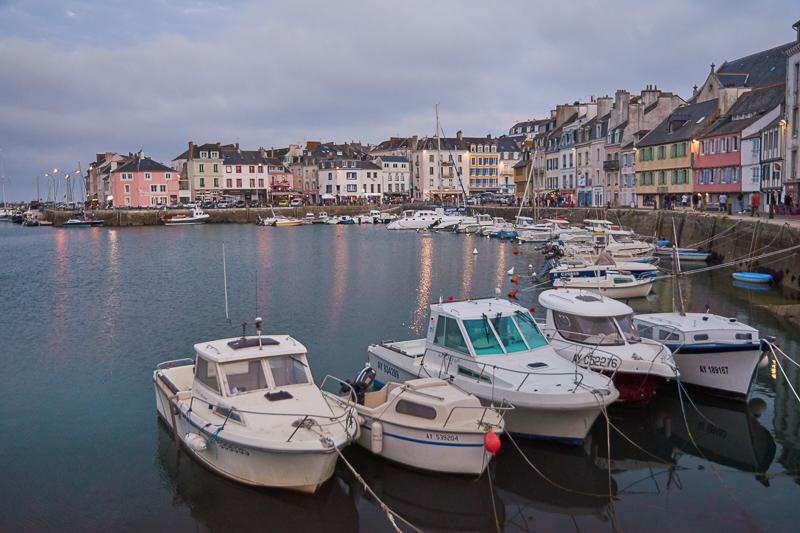 Landschaft, Küste, Meer, Abend, Frankreich, Bretagne, Belle Ile, Le Palais, Hafen, Stephan_Hastreiter